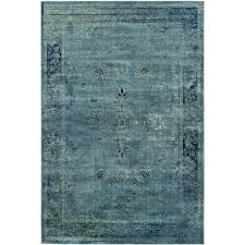 Safavieh Vintage Rug Collection Shop Safavieh Vintage Mosed Turquoise Indoor Distressed Area Rug
