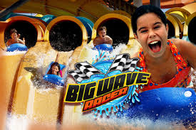 6 Flags Water Park Big Wave Racer At Six Flags Great Adventure