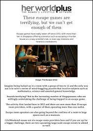 singapore escape room review media