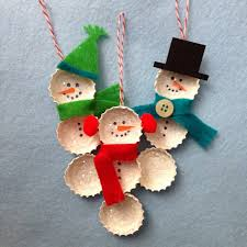 crafty lumberjacks bundled bottle cap snowmen