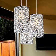 crystal home decor pendant bar lighting models cool ideas cute pendant lamps home
