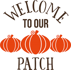welcome to our pumpkin patch fall autumn decor vinyl decal wall welcome to our pumpkin patch fall autumn decor vinyl decal wall stickers letters words