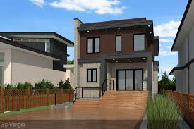 3d rendering for pre sale in west vancouver canadian blueprint