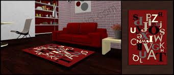 tappeto moderno rosso tappeti soggiorno spedizione gratuita bollengo