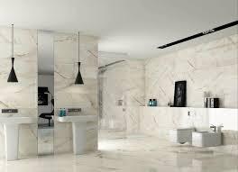 white marble bathroom white bathtub double bath sink with metal