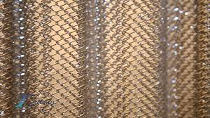 Metal Coil Drapery Luxury Shower Curtains Cascade Coil Home Decor Youtube