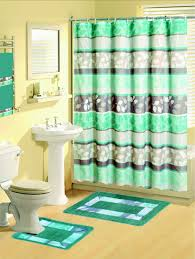 Contemporary Bathroom Rugs Sets Curtains Shower Curtain Set Details About Contemporary Bath Shower