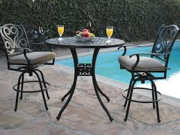 patio furniture bar stools and table amazing high top patio table set attractive tall outdoor dining sets