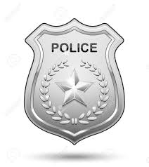 draw picture of a police badge 28 on free coloring pages for kids