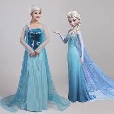 Elsa Halloween Costume Adults Popular Elsa Halloween Costume Adults Buy Cheap Elsa Halloween