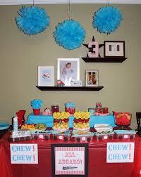 railroad themed birthday for 3 year boy http