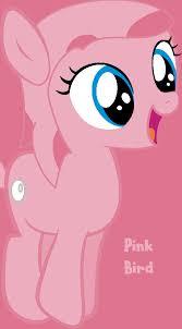 angry birds mlp pink bird pony worldofcaitlyn deviantart
