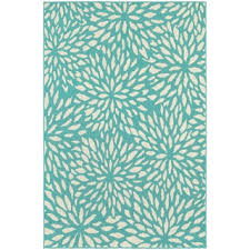 10x10 Outdoor Rug Stylehaven Floral Blue Ivory Indoor Outdoor Area Rug 7 U002710x10 U002710