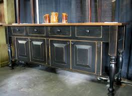 cabinet distressed buffet table wondrous distressed red buffet