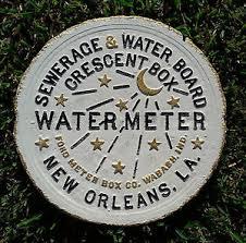 new orleans water meter cover new orleans water meter cover sir vintage saints ebay