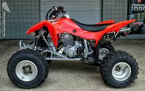 2017 honda trx450r trx400x race u0026 sport atv models discontinued