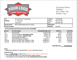 construction bid software construction estimating software project bidding program
