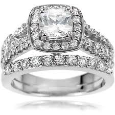 walmart cheap engagement rings alexandria collection s sterling silver cz engagement ring