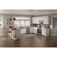 lowes white washed kitchen cabinets now arcadia 36 in w x 18 in h x 12 in d white door wall stock cabinet