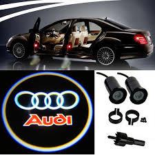 Ebay Led Lights 4 Audi Logo Led Light Bulbs Projection Courtesy Lights Decorative