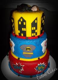 Superhero Baby Shower Cake Cakes U0026 Cupcakes Pinterest