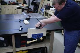 Woodworking Bench Vise Installation by Rockler 9