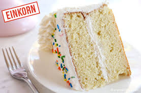 easy einkorn birthday cake recipe video