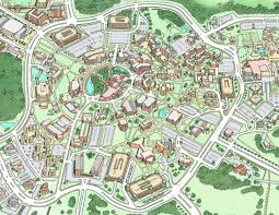 Map Of Central Florida by Campus Maps
