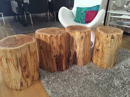 How To Build A Stump by Coffee Table The Easy Way To Make A Stump Coffee Table Diy