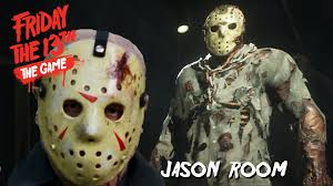 Jason Halloween Mask by Friday The 13th The Game Virtual Cabin Jason Room Youtube