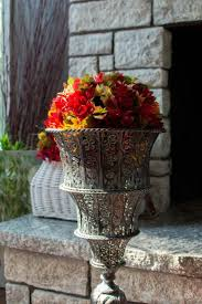Flowers For Home Decor by 10 Diy Fall Dollar Store Crafts For Home Decor Shelterness