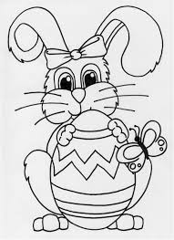 colour in bunny kids coloring europe travel guides com