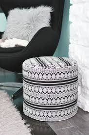 Fabric Armchairs And Ottomans 29 Comfortable Diy Poufs And Ottomans Shelterness