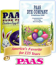paas easter egg dye our history paas easter eggs