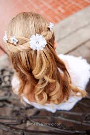 Hairstyles For Toddlers Girls by First Communion Hairstyles Festive Hairstyles For Little Girls