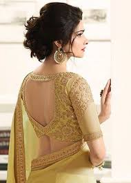 saree blouse designer indian wedding bridal georgette