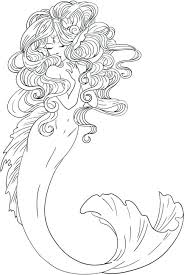 awesome mermaid coloring pages gallery podhelp