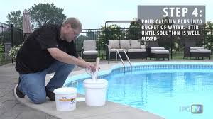 how to add calcium to your swimming pool youtube