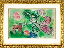 marc chagall romeo and juliet romeo et juliette 1964