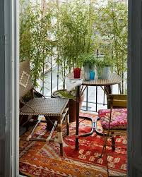 24 ways to decorate like you re an old hollywood star 24 colorful boho chic balcony décor ideas digsdigs
