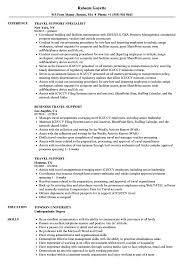 travel support resume samples velvet jobs
