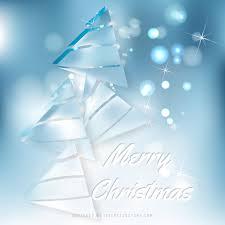 light blue christmas tree background design 123freevectors