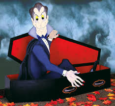 evening woodcraft pattern count dracula is just waking up and