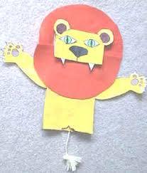 lion puppet bag lion puppet