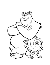 Monsters Coloring Pages Disney Coloring Pages Coloring Pages Monsters
