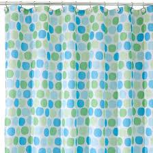 Aqua Blue Shower Curtains Rialto Polyester Shower Curtain 72