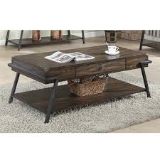 Lowes Coffee Table by Brassex 227 02 Magnum Coffee Table With Storage Drawer Lowe U0027s