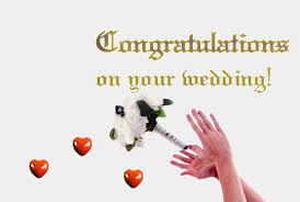 wedding congrats message wedding congratulations with bouquet free congratulations ecards