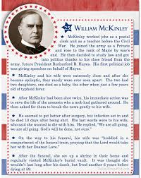 100 facts about us presidents 25 william mckinley politics