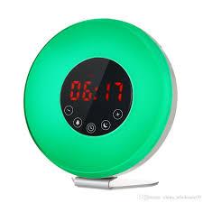 night light alarm clock digital clock with fm radio night light alarm clock snooze function